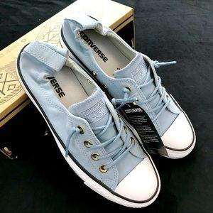 Converse Shoes - Converse CTAS Shoreline Slip Blue Skate/Ash Grey